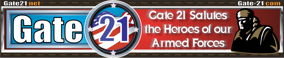 Gate 21 Salutes the Armed Forces