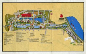 1982 World\'s Fair Map