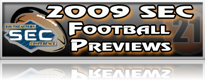 2009 SEC Football Previews | Gate 21