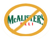 No McAlisters